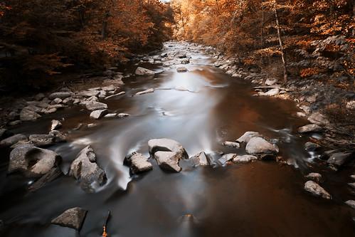 longexposure autumn fall canon river washingtondc maryland silverspring rockcreek hoyand400 49secondexposure 5dmkii ef1740f40lusm