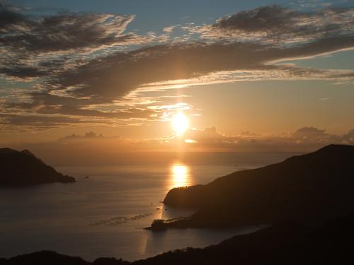 sunset, Uken-son, Amami Island, Kagoshima