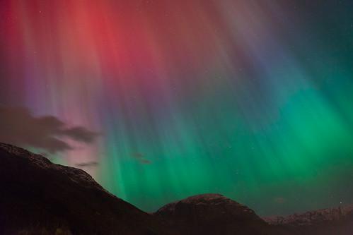 Aurora borealis, Odda Nordlys