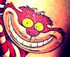 Cheshire Cat Grin Ge digital camera