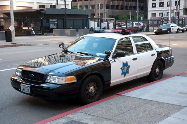 San Francisco Police Car