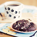 coffee & marshmallow choco cookie