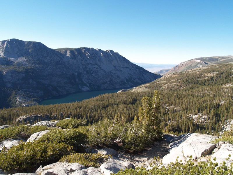 South Lake, view from Peak 10968, just north of Long Lake