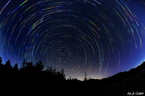 taiwan startrails 台中 大雪山 東勢 流星 polarstar 星軌 北極星 長曝 國家森林遊樂區 mygearandme