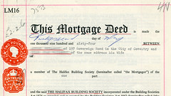 Legal stamps – Mortgage deed