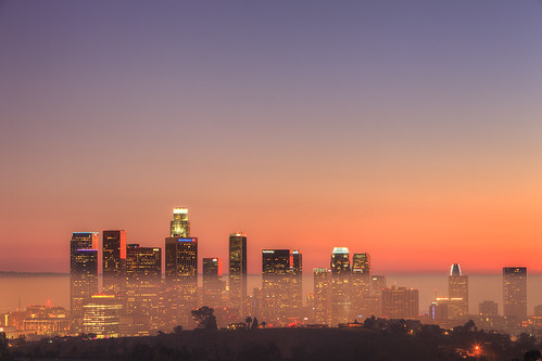 california sunset sky usa building skyline canon landscape photography losangeles twilight downtown cityscape view unitedstates hill gradient elysianpark ericlo ef24105mmf4lisusm eos5dmarkii