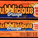 Bubblicious - Orange - bubble gum pack - late 1980's early 1990's