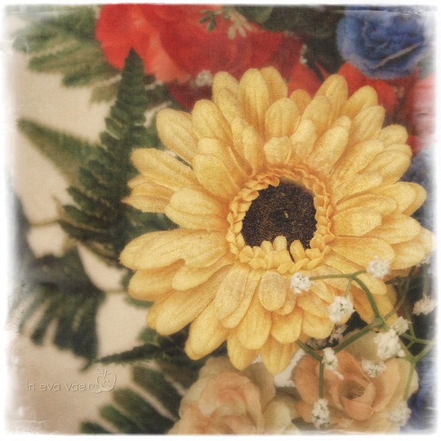 Still life with yellow gerbera