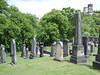 Old Calton Cemetery from American Civil War Memorial