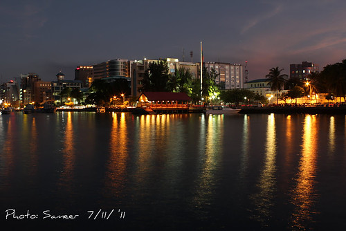 Male' Harbour- Glittering