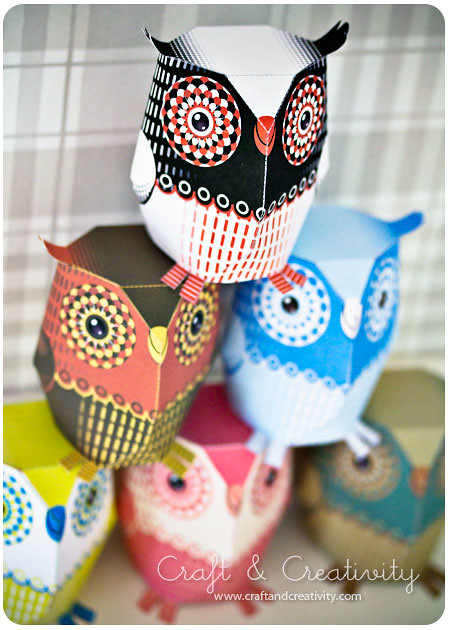paper owls folding paper owls out of ordinary copy paper