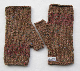 silk mix mitts