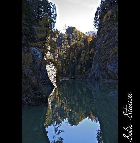 blue autumn mountain lake alps color water canon reflections landscape eos schweiz switzerland suisse outdoor herbst natur 7d traveling alpen svizzera landschaft wald soe efs landschaften solis stausee wow1 wow2 wow3 wow4 spiegelungen wow5 eflens landschaftsaufnahmen eos7d canoneos7d graubünden begumidast efs1585mmf3556isusm efs1585mm mygearandme blinkagain solisstausee