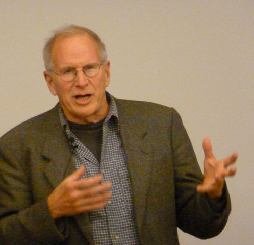 Lew Feldstein was the guest speaker (Sandy Isaacs photo)