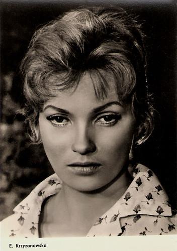 Ewa Krzyzewska in Popiól i diament (1958)