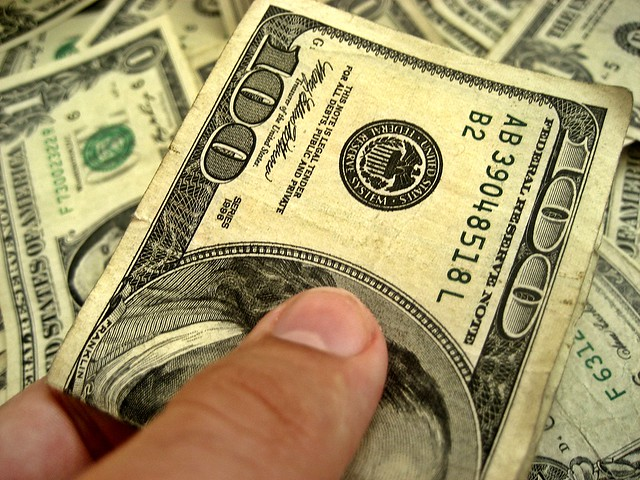 dollar bills from Flickr via Wylio
