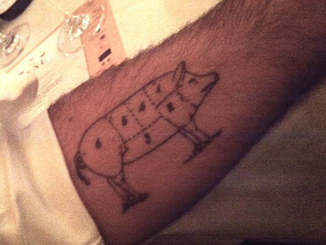 Oink tattoo