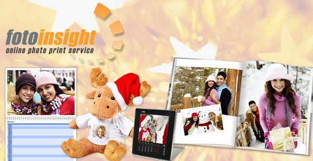 Personalised Christmas Gifts with own photograph