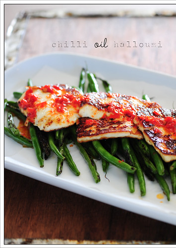 chilli oil halloumi9