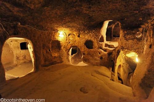 Underground Rooms, Kaymaklı
