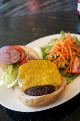 Cheese Burger, Firewood Café , San Francisco International Airport