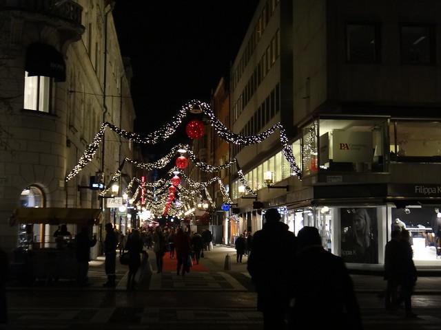 Första advent i Stockholm