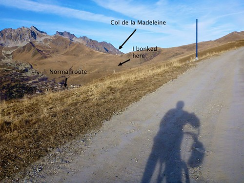Back road to Madeleine