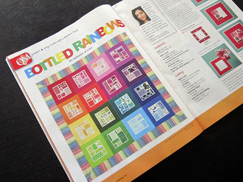 in Quiltmaker magazine