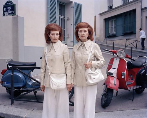 Mady & Monette, Rue des Partants, Paris, 2010 by Maja Daniels