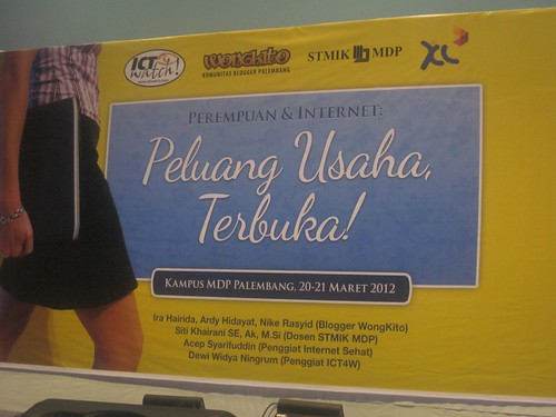 Cerita Workshop Palembang : Perempuan & Internet