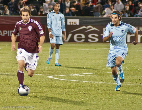 Brain Mullan  Colorado Rapids by CE's Photography