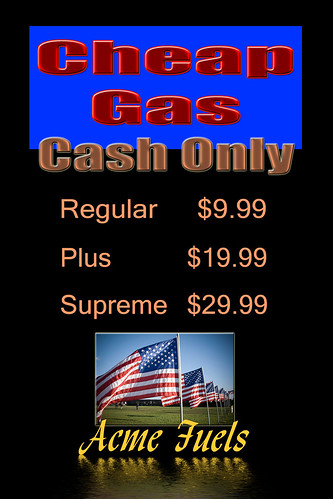 Cheap Gas by Damian Gadal