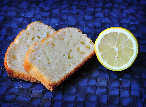 Lemon Head Cake Slices