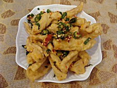 Deep Fried Squid with Chili Pepper