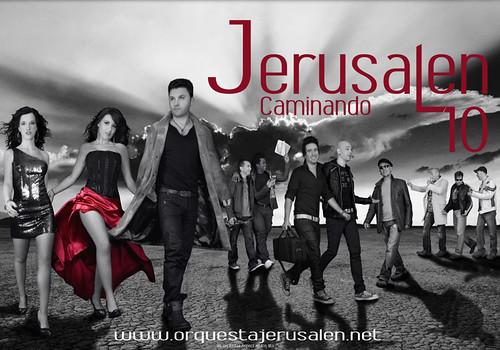 Jerusalén 2010 - orquesta - cartel