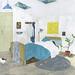 A room with a skylight by FUMI KOIKE