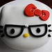 Nerd Hello Kitty Cake