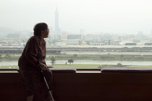 Grandma + window