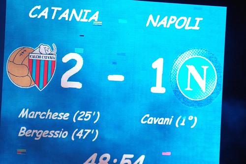 Calcio, Catania-Napoli: precedenti in serie A$