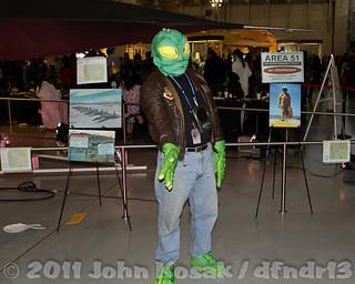 Buzz the Alien SR-71 Pilot