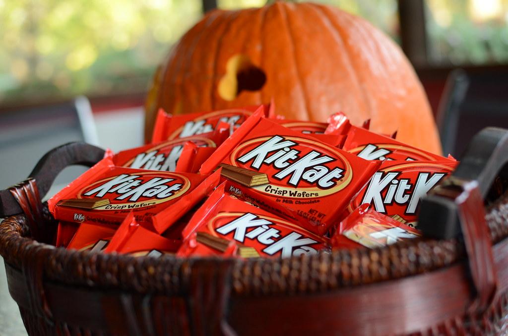 Kit Kat Bars for Halloween