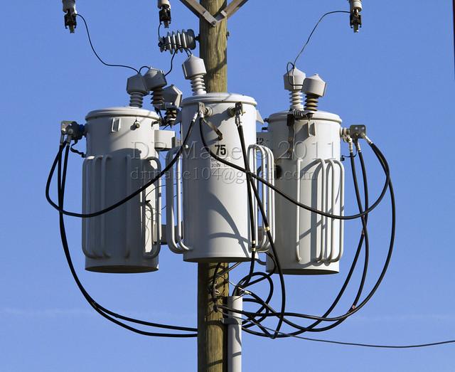 Transformer power line