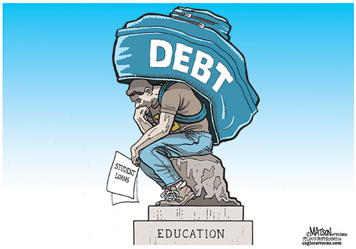 Make student loan debt dischargeable in bankruptcy