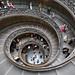 Doble escalera-Museos Vaticanos.Roma by dnieper