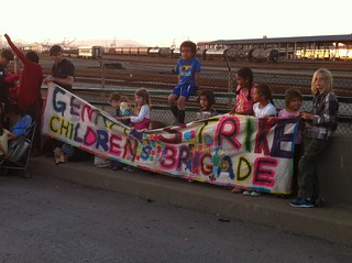 The Children's Brigade, i.e. the cutest part of the 99%