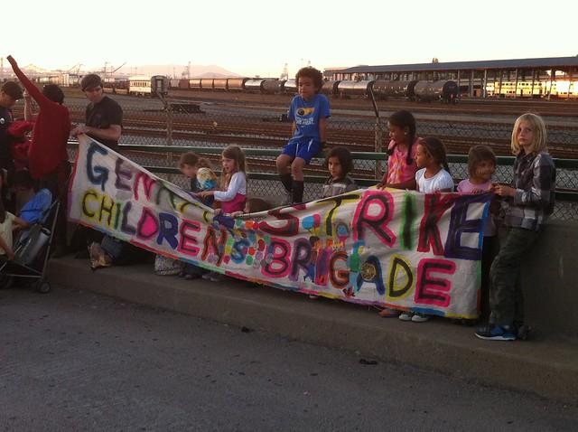 The Children's Brigade, i.e. the cutest part of the 99%