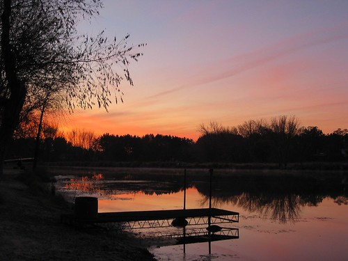 minnesota sunrise landscape