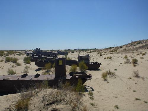 Aral Sea, Moynaq, Uzbekistan