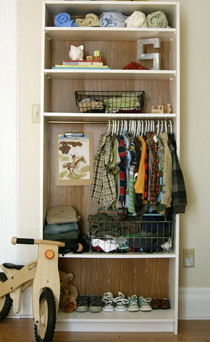 Rent to blog open closets in small spaces - Open closets small spaces paint ...