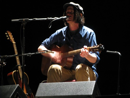Jeff Mangum at Loew's Theatre Jersey City